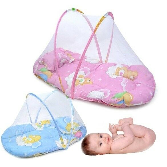 Creative Infant Travel Bed Crib Netting Portable Folding Baby Mosquito Net Tent