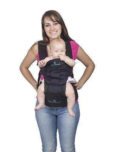 cac8cee4390 Five Position Baby Backpack and Kangaroo Carrier – The Moms Zone
