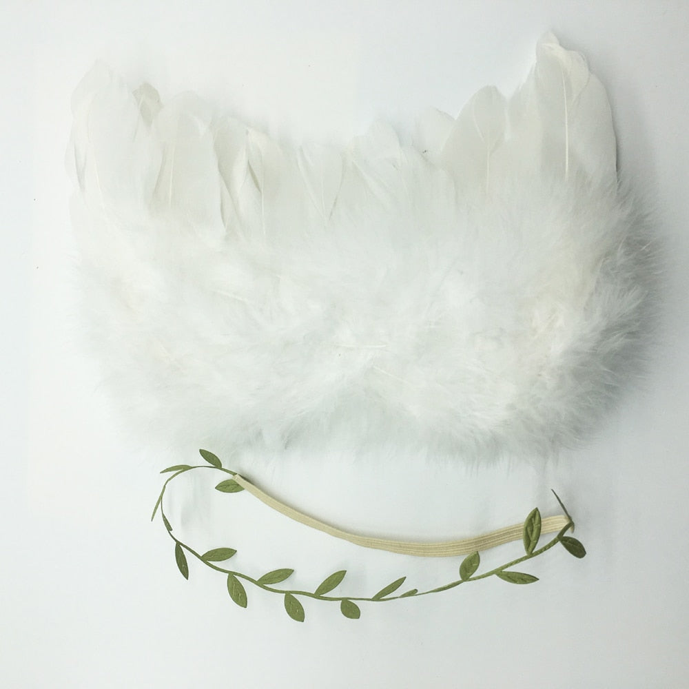 Angel Wings Newborn Accessories Handmade Costumes Crochet