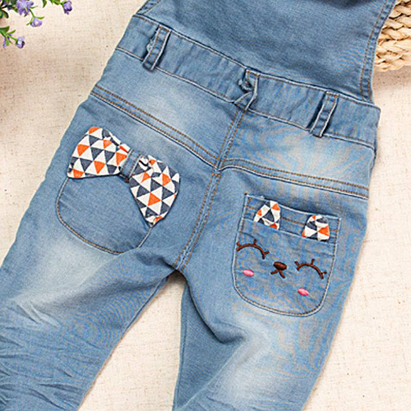 Baby Girls Rompers Spring Infant Jeans Denim  Toddler