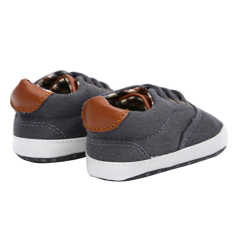 Baby Boys Shoes First Walkers Canvas Sneaker