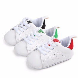 Baby Shoes Boy Girl Solid Sneaker Cotton Soft
