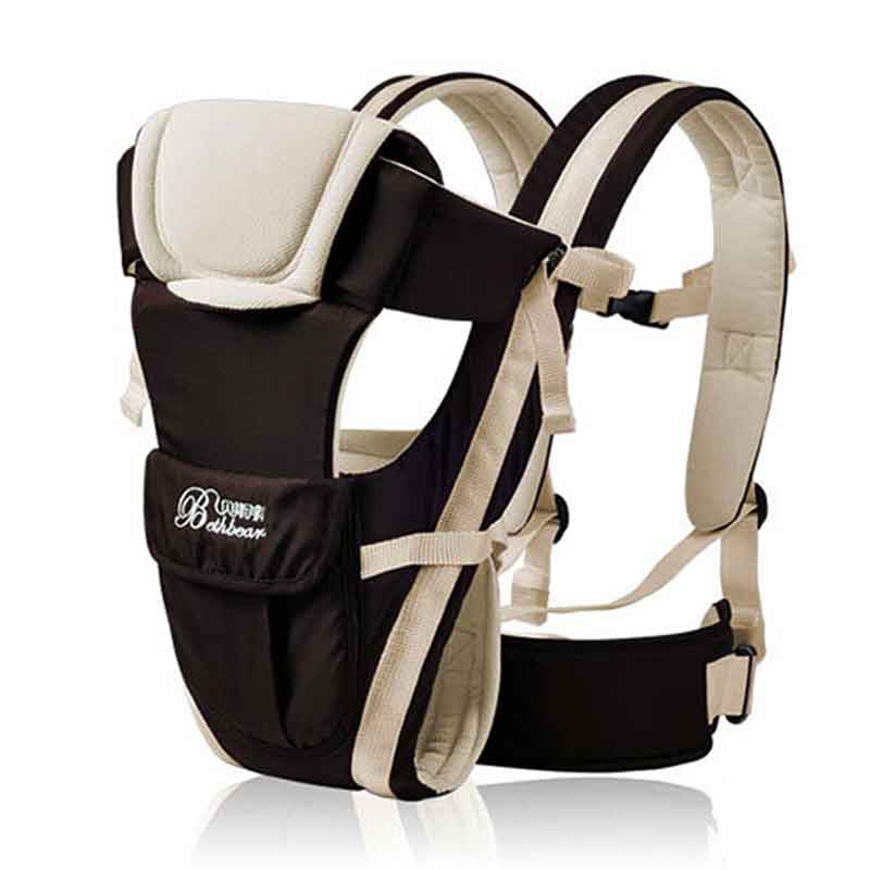 Beth Bear 0-30 Months Breathable Front Facing Baby Carrier 4 in 1 Infant Comfortable Sling