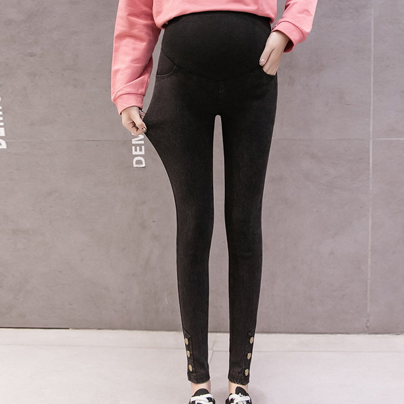Maternity Jeans Pants For Pregnant Women Nursing Trousers Denim Jeans