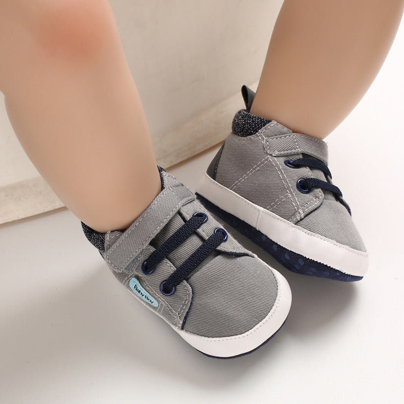 Baby Shoes Soft Bottom Toddler Shoes  Baby Boy Casual Shoes