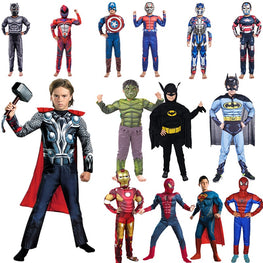 Halloween Costume Captain America Avengers Spiderman Batman Iron Man