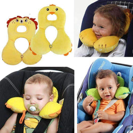Baby Animal U-Pillow Headrest & Neck Protection - TheMomsZone
