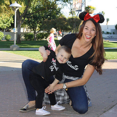 Mother Daughter  T Shirt casual matching outfits