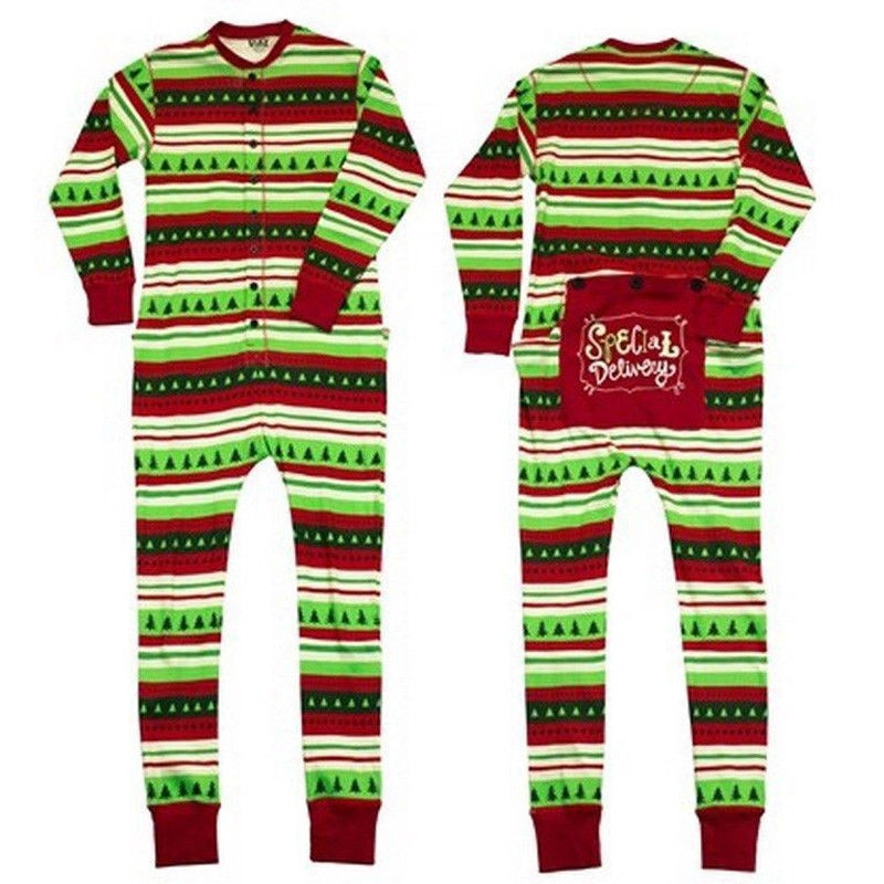 Family Matching Christmas Pajamas Set Women Men Baby Kids Green Sleepwear  Nightwear 2017 New Hot Sale 9c229636c