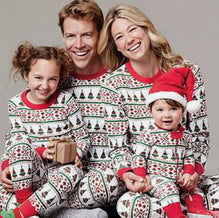 Family Matching Outfit Look Christmas Pajamas Family Set Dad Mom Kids Clothes Christmas Family Look Pajamas Family Clothing YJ