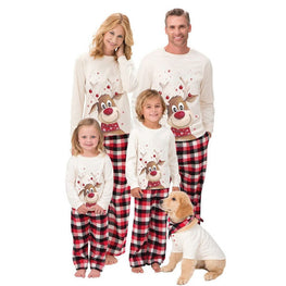 Family Matching Outfits Christmas Pajamas Set