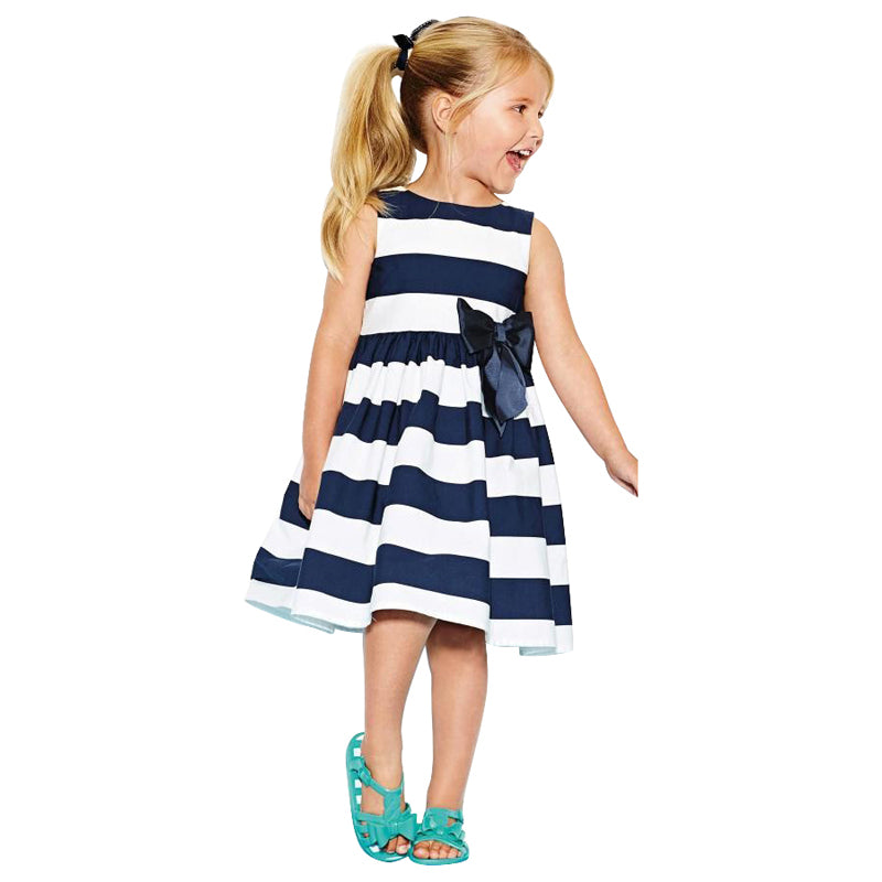 Baby Dresses For Girls Princess Cute Cotton Striped