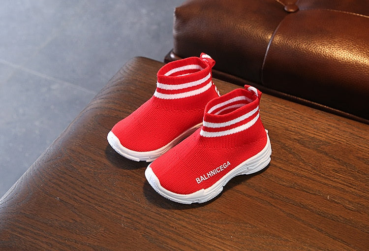 1 to 5 Years Old Fashion Baby Casual Shoes Breathable Boys And Girls Sports Shoes