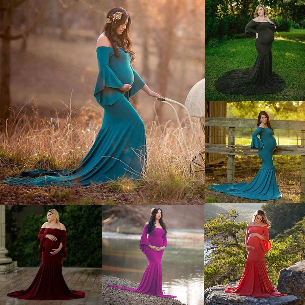 Maternity Mermaid Dress