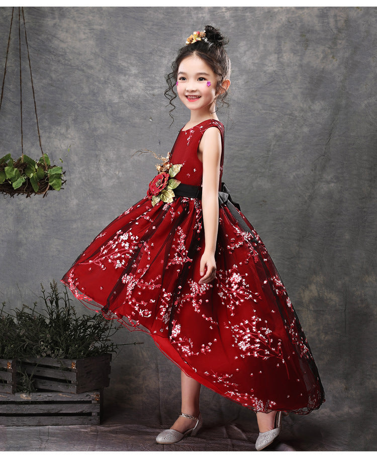 Princess Dress Toddler Girl Clothes Birthday Party Vestidos Costume For age 2 12 Yrs thanksgiving dresses