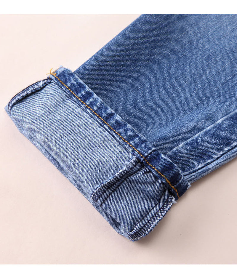 Jeans Maternity Clothing Pants For Pregnant Women Nursing Trousers Denim Long Prop Belly Legging