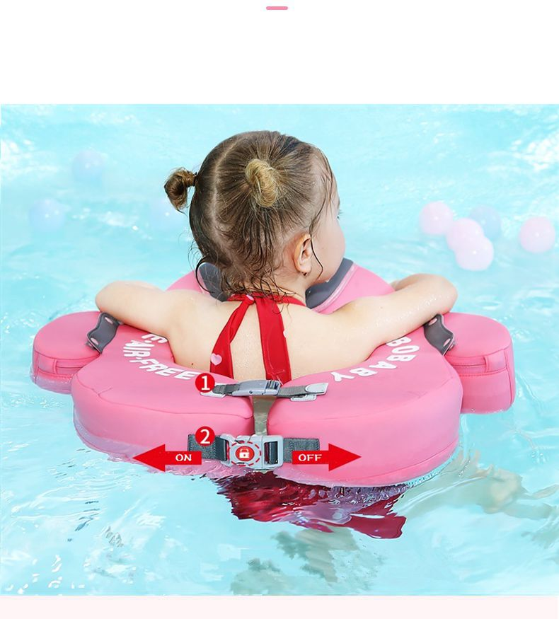Solid No Inflatable Safety for Baby Swimming Ring Suitable for 0 2 3 6 years old