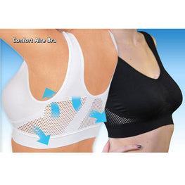 Hollow Mesh Vent Hole Woman Bra Solid Color High Elasticity Anti sagging Gathered Maternity Vest