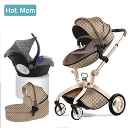 Hotmom Baby carriage 3 in 1 High landscape stroller