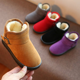 Autumn Winter Warm Fashion Children Martin Girls Boys Snow Boots