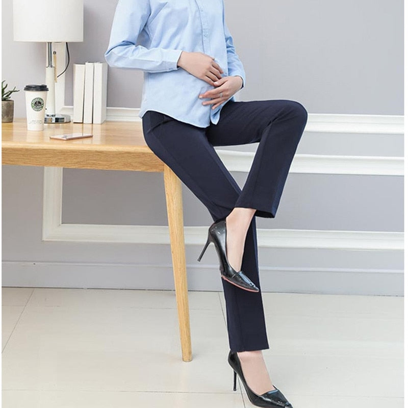 Maternity Pants&Capris Business Wear pregnancy Pants OL Style Trousers  For Work