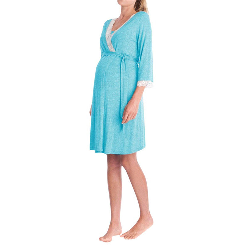 Maternity dresses Clothes Womens Lace Pregnants