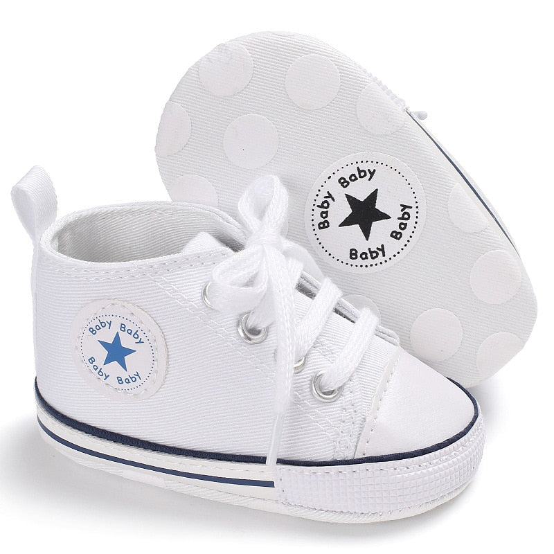 New Canvas Baby Sneaker Sport Shoes For Girls Boys