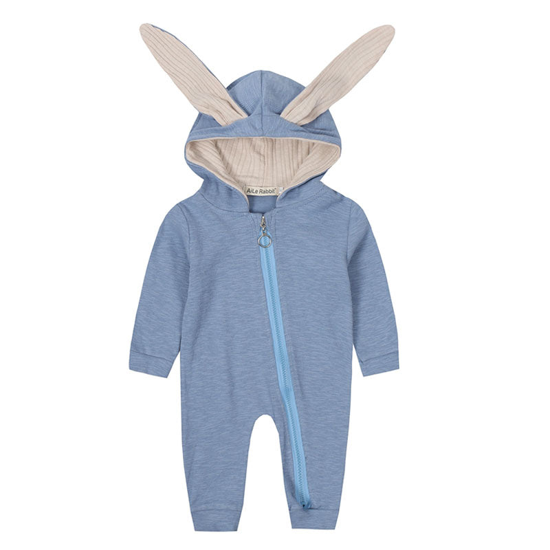 Baby Rompers Cute Cartoon Rabbit Infant Girl Boy