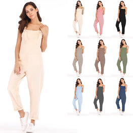 Loose Maternity Pants Pregnant Trousers Strap Belt Overalls Jumpsuit