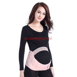 Maternity Belly Waist Care Abdomen Support Belly Band Back Brace Pregnancy Protector