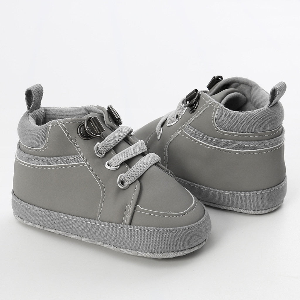 Solid Cross tied Fashion Toddler First Walkers Kids Shoes