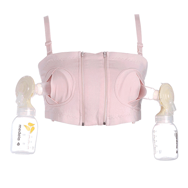 Pregnancy Nursing Bra Free Hand Breast Pump Special purpose No Steel Arge Cup