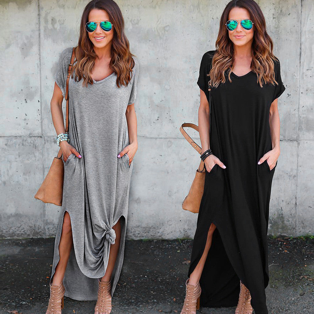 women clothing Fashion Loose Long Dress