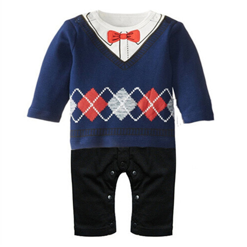 Baby Boy Rompers  Gentleman