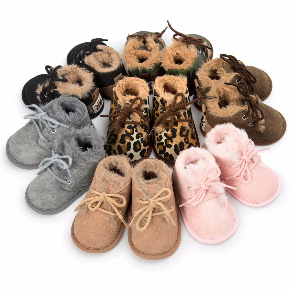 Baby Boys Girls Keep Warm Shoes