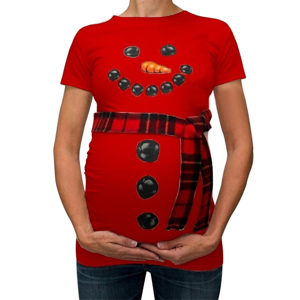 Maternity T Shirts Pregnancy Tee Tops Clothes lovely Clothes for Pregnant Women