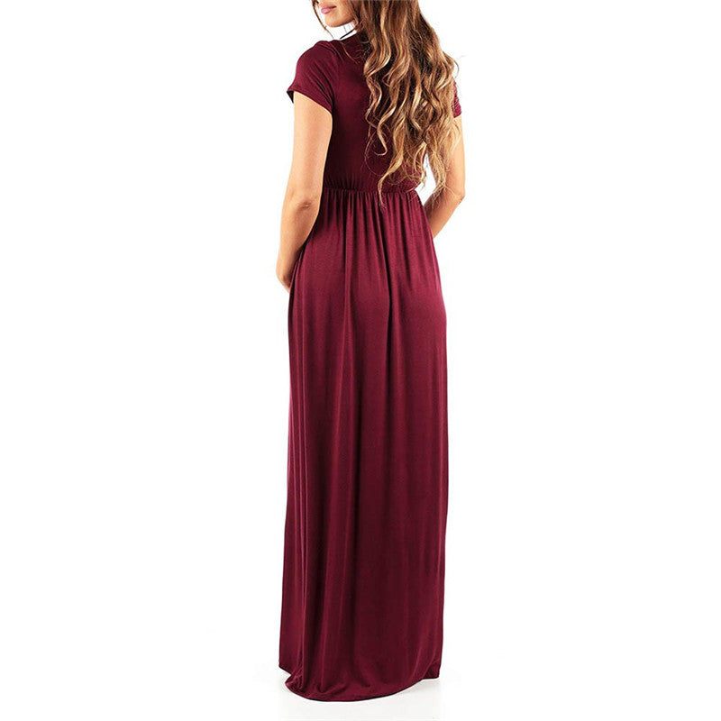 Womens Dress Solid Maternity