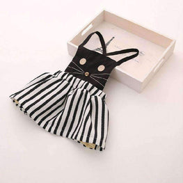 Baby Girl Casual Cat Dress - TheMomsZone