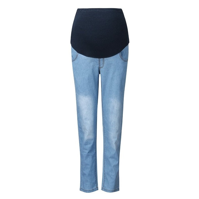 Maternity Jeans For Pregnant Women Winter Warm Jeans