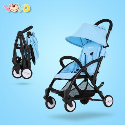 Baby Stroller 3 in 1 Foldable Travel Carriage Buggy Pushchair