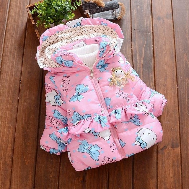 baby girls christmas autumn winter jacket