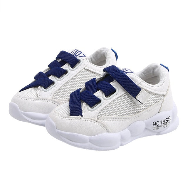 Girls Boys Sneakers Kids Air Mesh Breathable Sport Shoe Baby Toddler