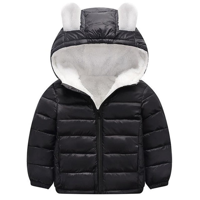 Thick Warm Autumn Baby Boys Winter Jacket