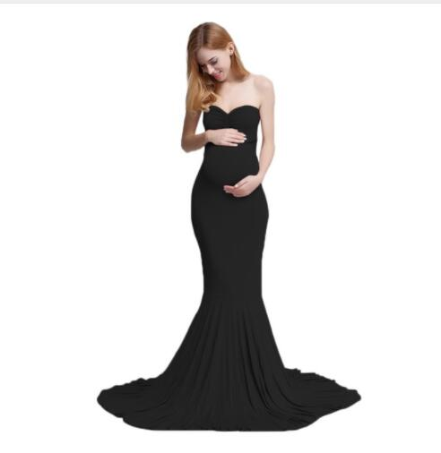 30fca611481 Envsoll Maternity Dress Maxi Long Maternity Gown Dresses Clothes for  Pregnant Women Maternity Photography Prop Baby
