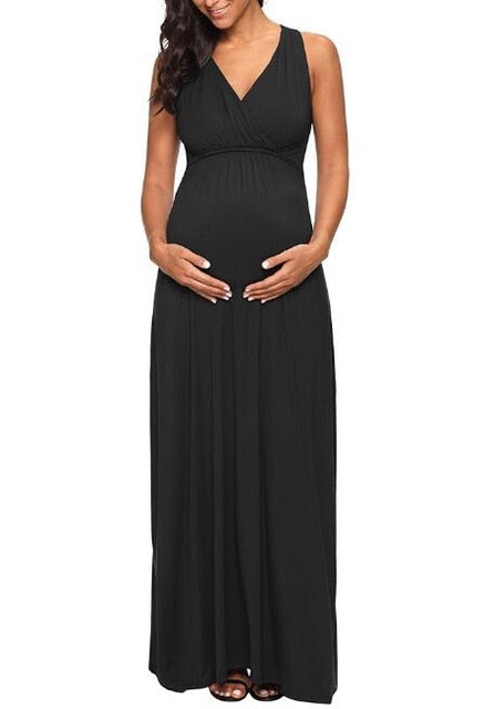 7d511012f5c Maternity Clothes Nursing Sexy Party Long Maxi Dress – The Moms Zone