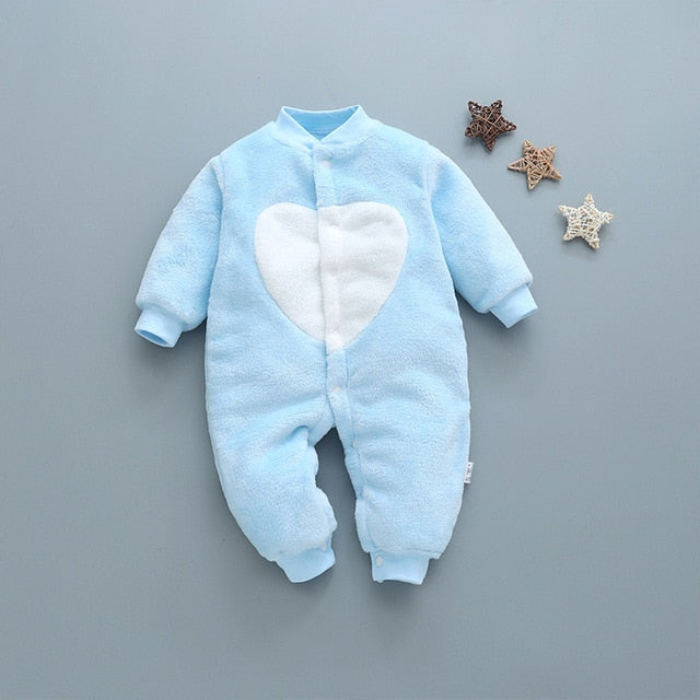 Newborn Baby Clothing Flannel baby Rompers