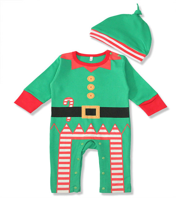 Baby Romper Cotton Newborn Baby Clothes Long Sleeve Baby Girl Christmas