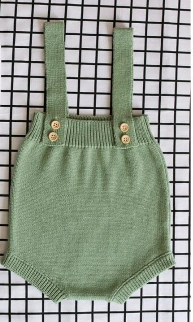 Baby Knitting Rompers Cute Overalls