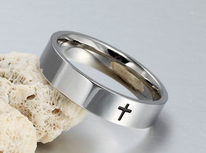 Minimalistic Cross Ring