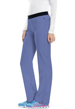CHEROKEE INFINITY LOW RISE SLIM PULL ON PANTS